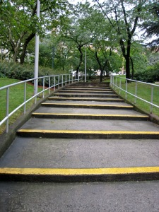 Steps and inclines