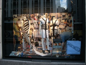 Window dressers, Bergdorf Goodman Fifth Avenue