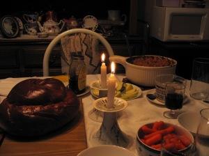 9-09 Rosh Hashanah dinner